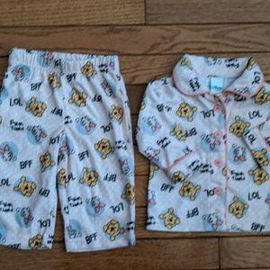 Disney Winnie the Pooh Piglet Pajamas